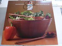 Professional Wooden Salad set