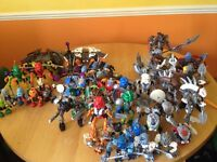 Various Lego Bionicles (2001–'7) seeking Good Home(s)