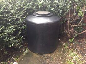 1200 litre water butt for garden