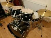 CB Drum Kit (SP series) inc. Hardware & Cymbals