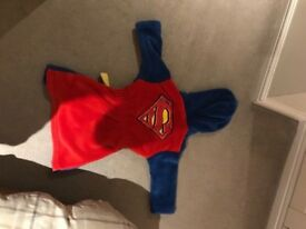 Superman dressing gown age 2-3