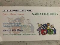 Little Rose home day care
