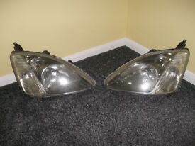 Honda Civic original front lights