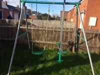 Swing Set and Accessories