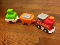 VTech Toot-Toot Drivers Cargo Train with Wagons