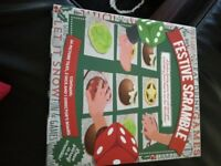 Festive Scramble Board Game