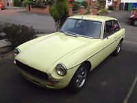 1977 MGB GT 1800 with Suspension Upgrades - Road Track Sebring