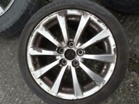 Lexus alloy wheels R17