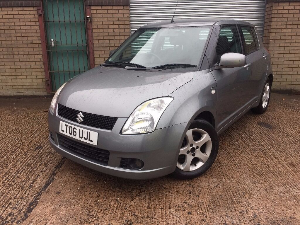 Suzuki Swift 2006 model 5 door hatchback PETROL 12 months MOT