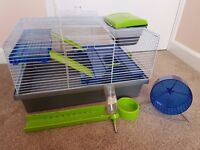 Hamster/Dwarf Hamster Cage + Accessories in Good Condition! Only £12