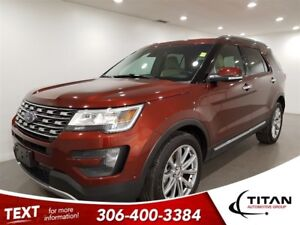 2016 Ford Explorer Limited 4X4 CAM Leather NAV