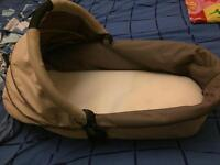 Icandy cherry carrycot and adaptor for maxi cosi car seat