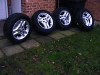 """18 """" alloy wheels"""