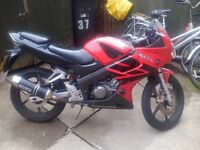 honda cbr R 125 good reliable bike