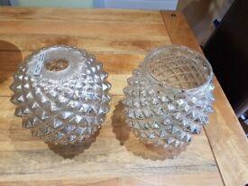 2x homebase lamp shades