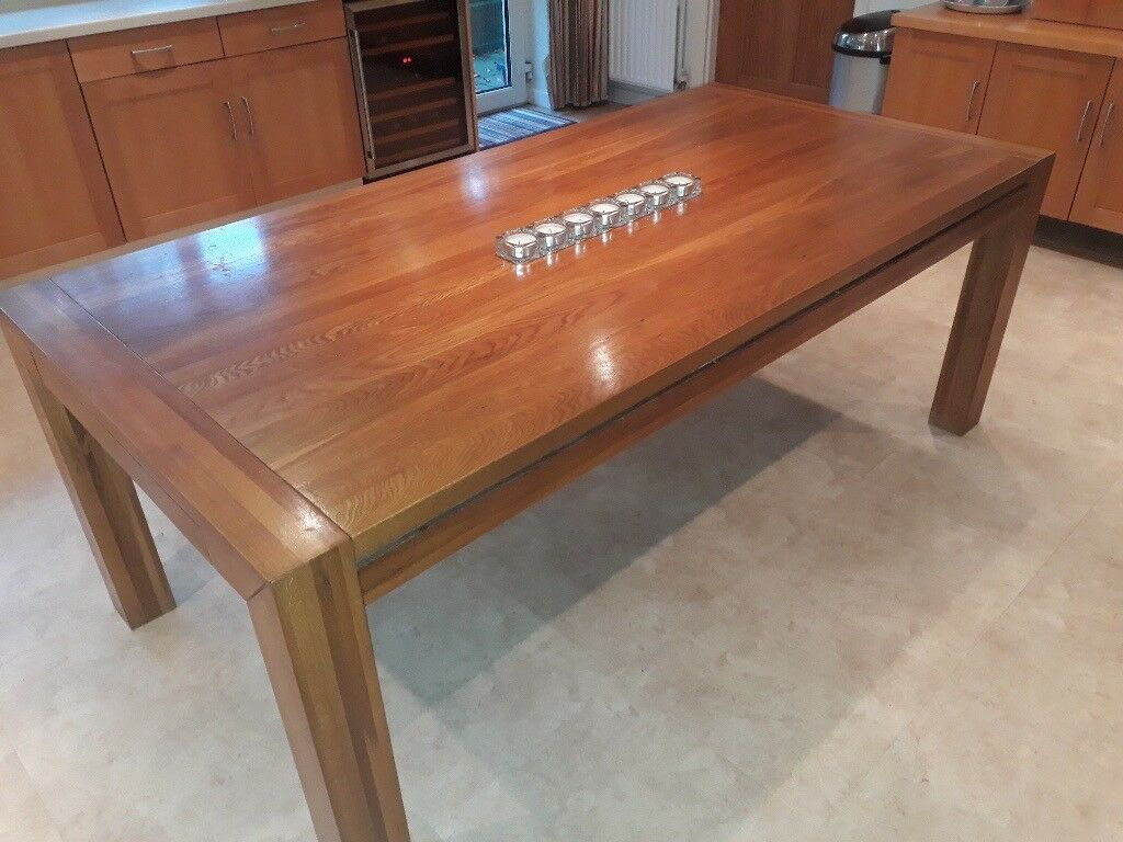 Solid Hard Wood DiningTable seats 8 to 12 people