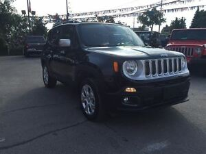 2016 Jeep Renegade BRAND NEW, LIMITED, PWR SKY ROOF