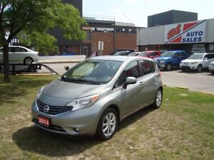 2014 Nissan Versa Note 1.6 SL ~ NAVIGATION ~ 360' CAMERA ~ HEATE