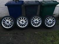 Ford Fiesta zetec s mk 6 alloys,nice condition,£200,no offers
