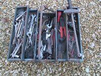 Old mechanics tools
