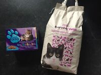Free Cat Litter and Food