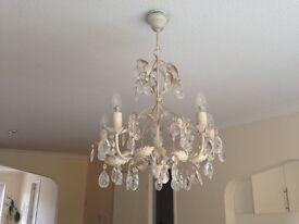Annabella five arm chandelier -John Lewis