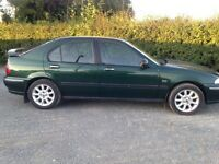 Rover 45 for sale 2002