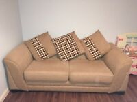 Large 2 seater sofa (DFS)