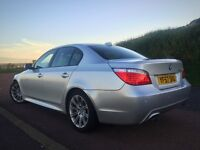 M SPORT 2007 BMW 520D AUTOMATIC NEW SHAPE LONG MOT FSH [NOT AUDI A6 E CLASS PASSAT MONDEO]