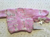 lovely hand knitted Baby items.