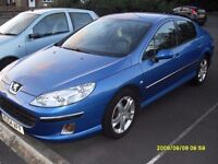 PEUGEOT 407 2.2cc ..2005..LONG MOT..FULLY LOADED