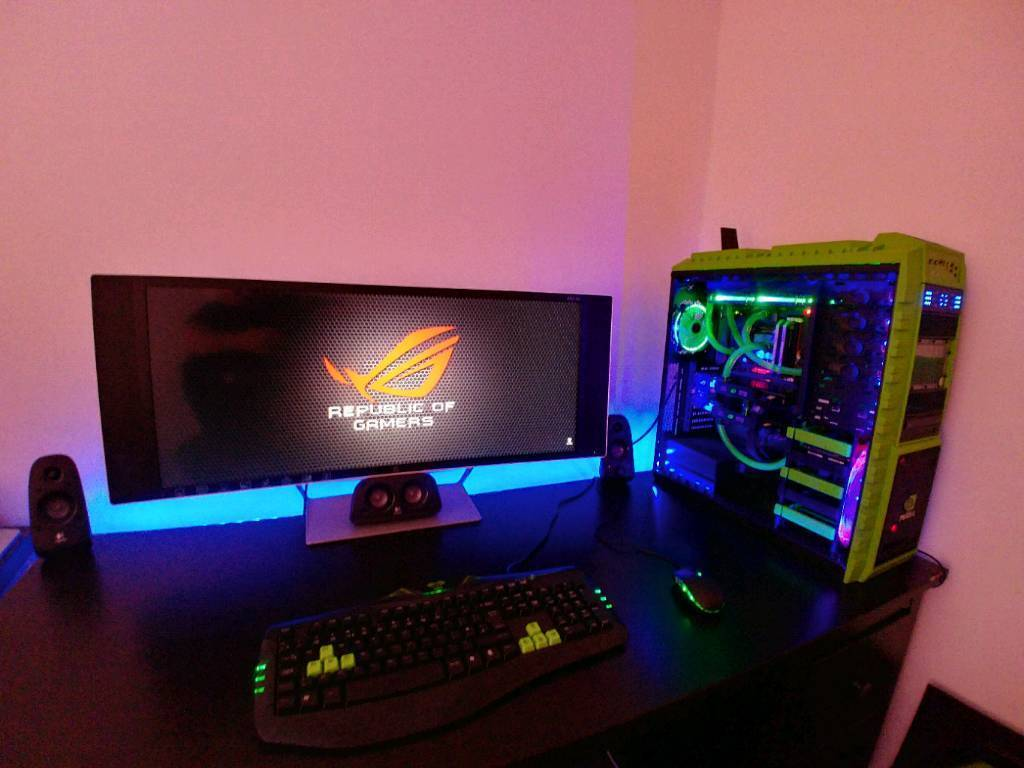 Fully Water Cooled Custom Build Gaming & Workstation PC/34