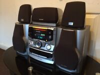 SHARP CD-PC651H HiFi 5 CHANNEL SOUND SYSTEM, FULL WORKING, HI- QUALITY SOUND, EXCELLENT CONDITION.