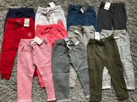 Next Girls Joggers Trousers Bundle 2-3 years RRP £89! Get if for only £45! 11 items in the bundle!