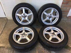 Vauxhall corsa astra alloy wheels 4x100 bargain