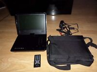 portable dvd player proline 9 inch widescrean