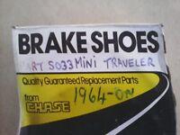 Mini brake shoes