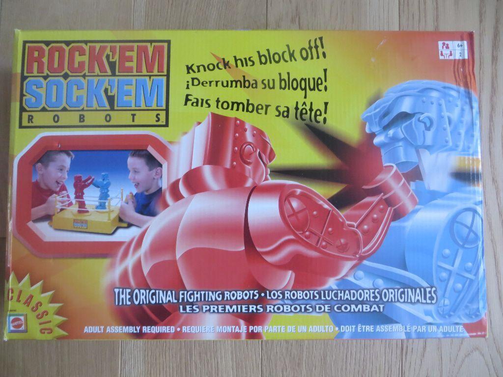 Rock'em Shock'Em Robots GAME