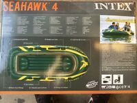 Seahawk 4 rubber dinghy