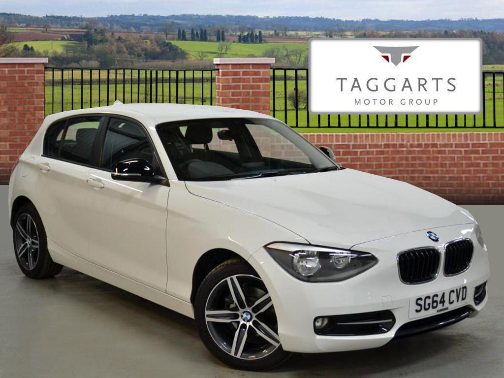 bmw 1 series 116i sport white 2014 09 01 in motherwell north lanarkshire gumtree. Black Bedroom Furniture Sets. Home Design Ideas