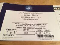 Bruno Mars Tickets, London