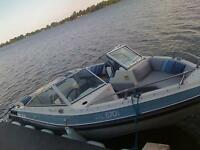 17 1/2 foot Inboard boat with Trailer