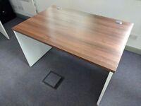 High Quality Dark Oak Wooden style Office Study Desks 1200 X 800