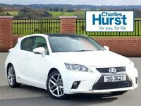 Lexus CT 200H EXECUTIVE EDITION (white) 2017-01-14