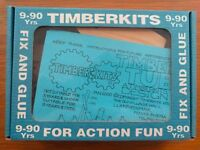 """Timberkits """"Timber Tub"""" Moving Wooden Ship or Boat Construction Set - Brand New"""