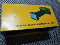 Zoom slide duplicator never opened