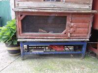 Guinea Pig/Rabbit Hutch for sale