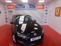 VW Polo MATCH(FREE MOT'S AS LONG AS YOU OWN THE CAR!! (black) 2011