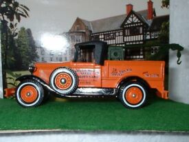 Matchbox Models of Yesteryear Y-21 Ford Model A, Barlow Motors Wrecker, No box FREEPOST