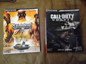 Saint Row 2 and Call Of Duty Ghosts strategy guides